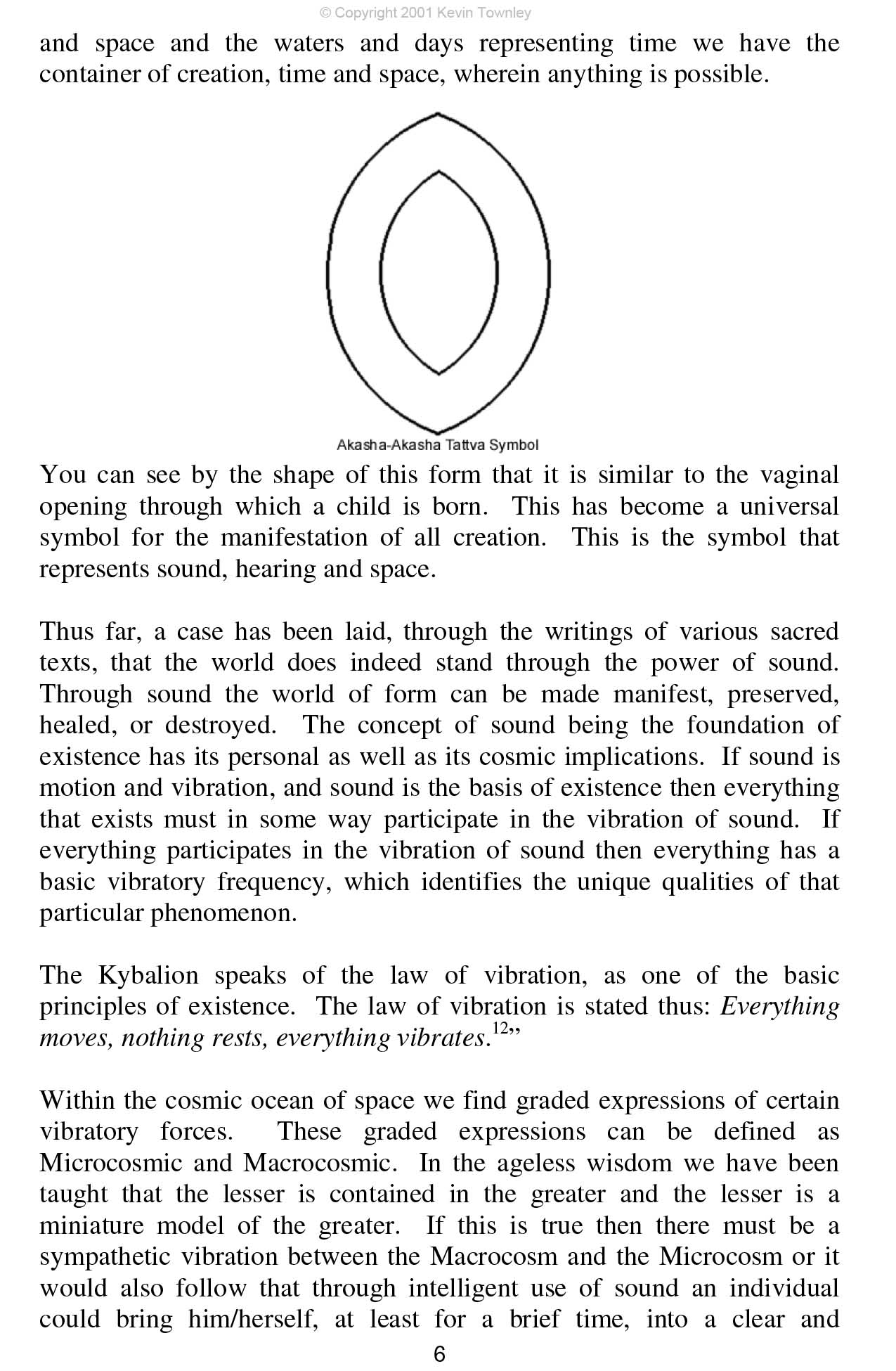 Healing with Sound and the Vibratory Attonement Part 1 p.6