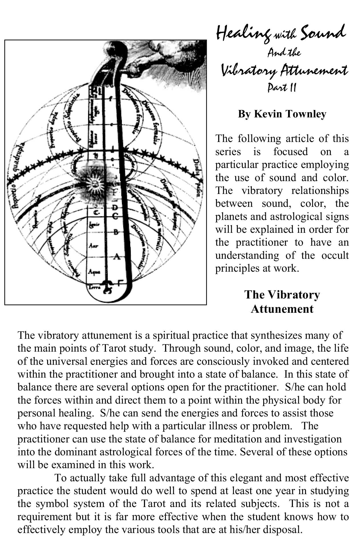 Healing with Sound and the Vibratory Attonement Part 2 p.1